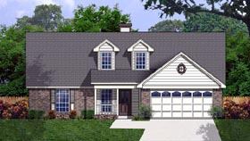 Cape Cod House Plan 77175 Elevation