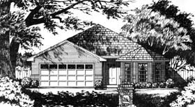 Traditional House Plan 77177 Elevation