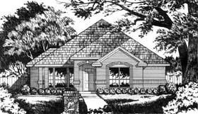 Traditional House Plan 77179 Elevation
