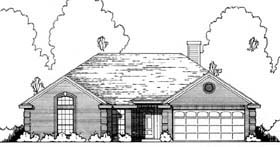 Plan Number 77180 - 1490 Square Feet