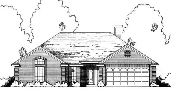 Traditional House Plan 77180 Elevation