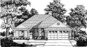 Traditional House Plan 77181 Elevation