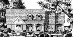 Country House Plan 77190 Elevation