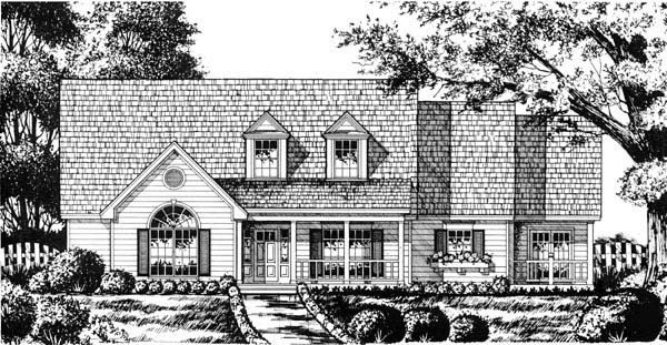 Country House Plan 77191 Elevation