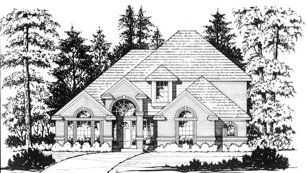 Traditional House Plan 77194 Elevation