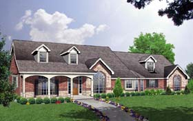 Country Traditional House Plan 77197 Elevation