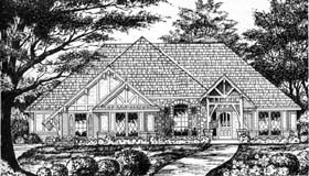 Traditional House Plan 77200 Elevation