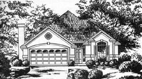 Traditional House Plan 77202 Elevation