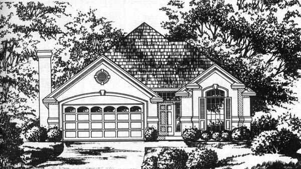 House Plan 77202