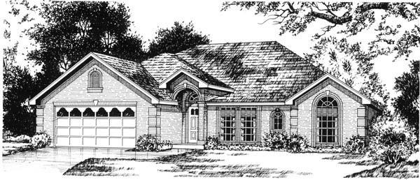 Traditional House Plan 77205 Elevation