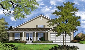 Contemporary House Plan 77310 Elevation
