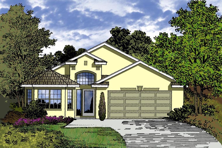Contemporary House Plan 77311 Elevation