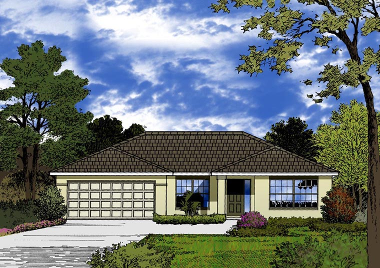 Contemporary House Plan 77313 Elevation