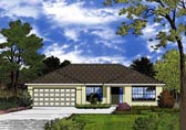 Plan Number 77313 - 1751 Square Feet
