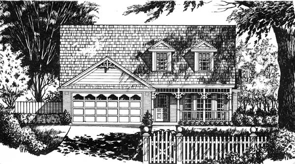 Country House Plan 77710 Elevation