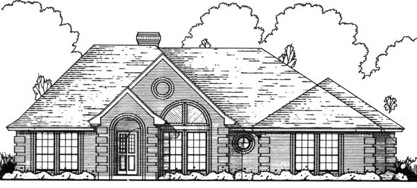 Traditional House Plan 77711 Elevation