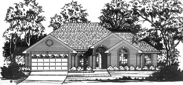 Traditional House Plan 77712 Elevation