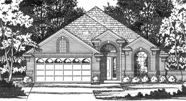 Traditional House Plan 77715 Elevation