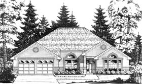 Traditional House Plan 77716 Elevation