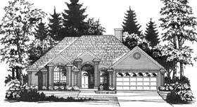 Traditional House Plan 77717 Elevation