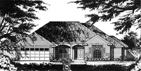 Traditional House Plan 77718 Elevation