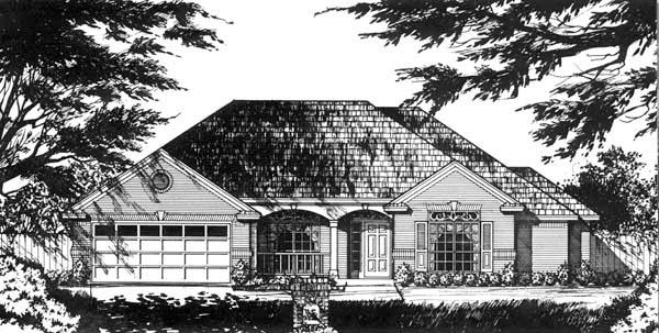 House Plan 77718