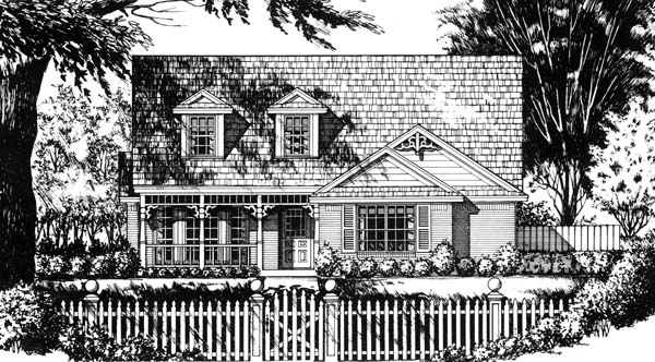 Country House Plan 77721 Elevation