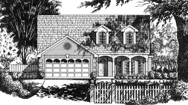 Country House Plan 77722 Elevation