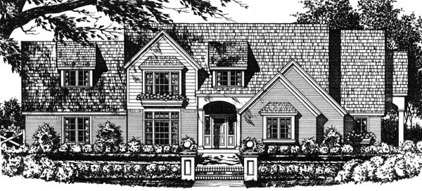 Traditional House Plan 77724 Elevation