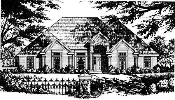 Traditional House Plan 77728 Elevation