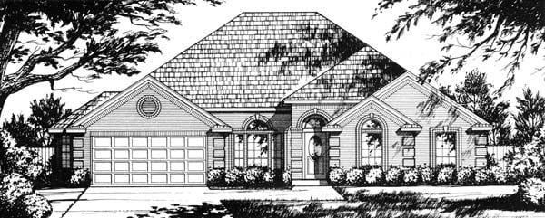 Traditional House Plan 77729 Elevation