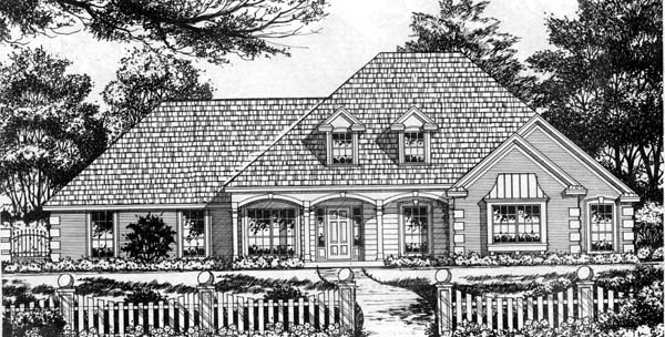 Country Traditional House Plan 77739 Elevation
