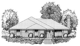 Traditional House Plan 77743 Elevation