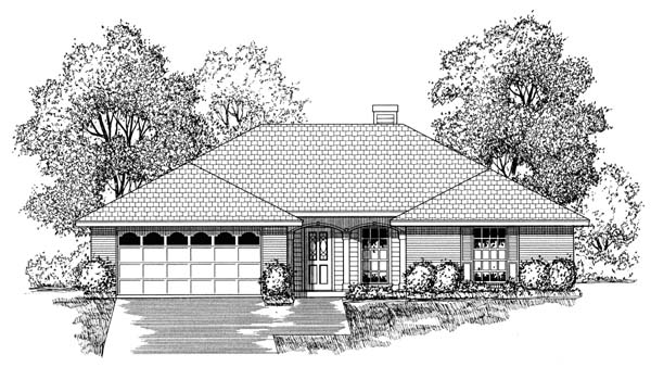 Traditional House Plan 77745 Elevation