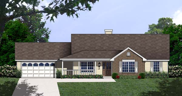 Country House Plan 77746 Elevation