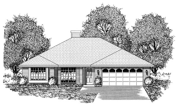 Traditional House Plan 77747 Elevation