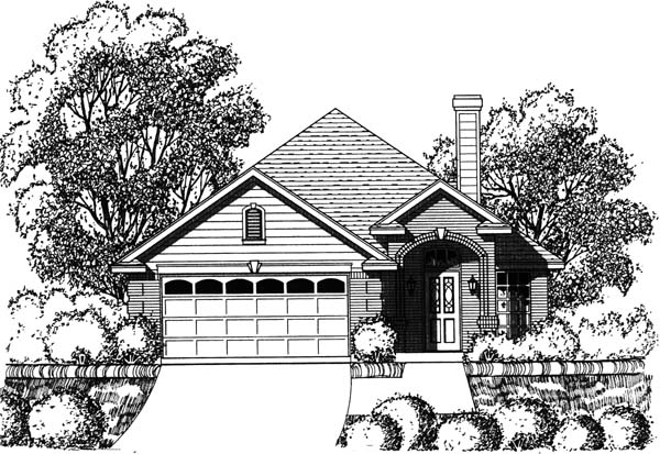 Traditional House Plan 77749 Elevation