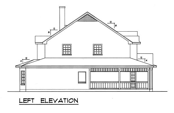 Country, Ranch, Southern House Plan 77751 with 5 Beds, 4 Baths Picture 1