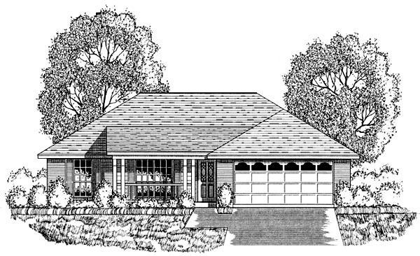 House Plan 77752