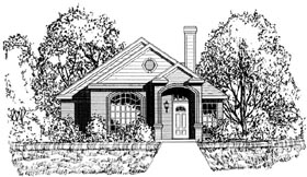 Traditional House Plan 77754 Elevation