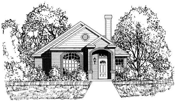 House Plan 77754