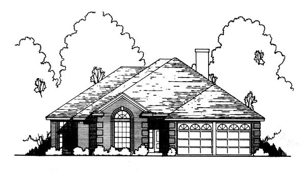 Traditional House Plan 77755 Elevation