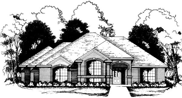 Traditional House Plan 77756 Elevation