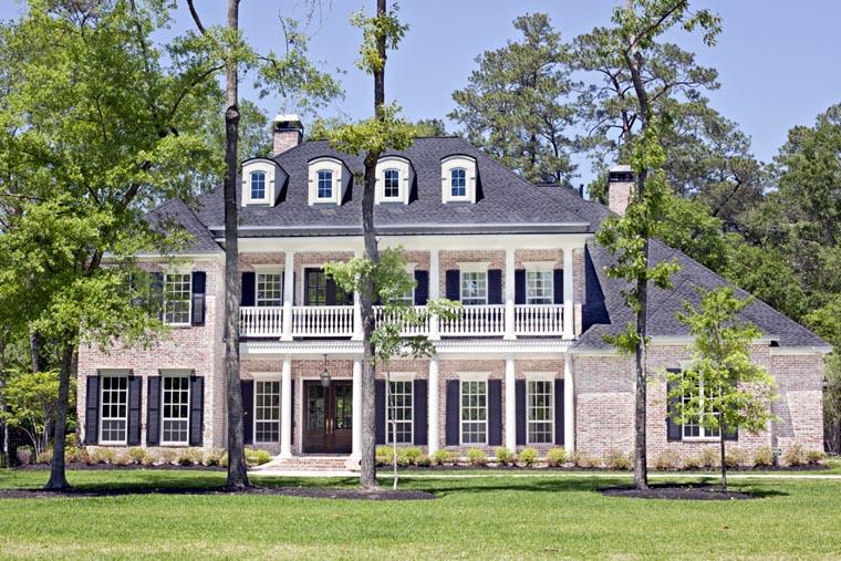 Plantation House Plan 77818 Elevation