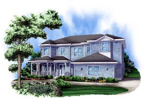 Traditional House Plan 78101 Elevation
