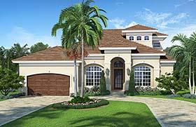 Florida Mediterranean House Plan 78115 Elevation