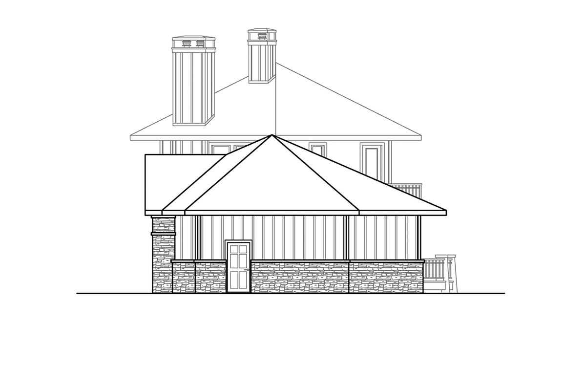 Cabin, Contemporary, Craftsman House Plan 78403 with 3 Beds, 4 Baths, 2 Car Garage Picture 1