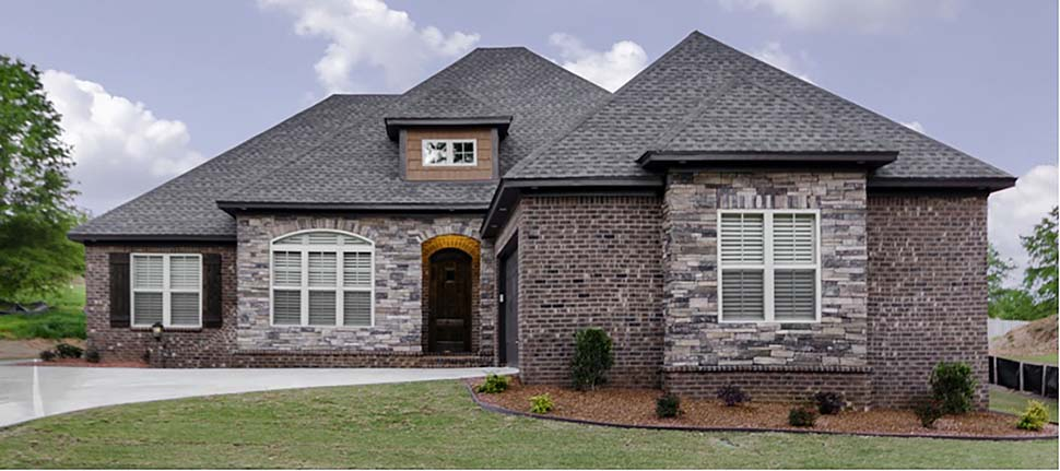 European, Traditional House Plan 78500 with 3 Beds, 2 Baths, 2 Car Garage Elevation