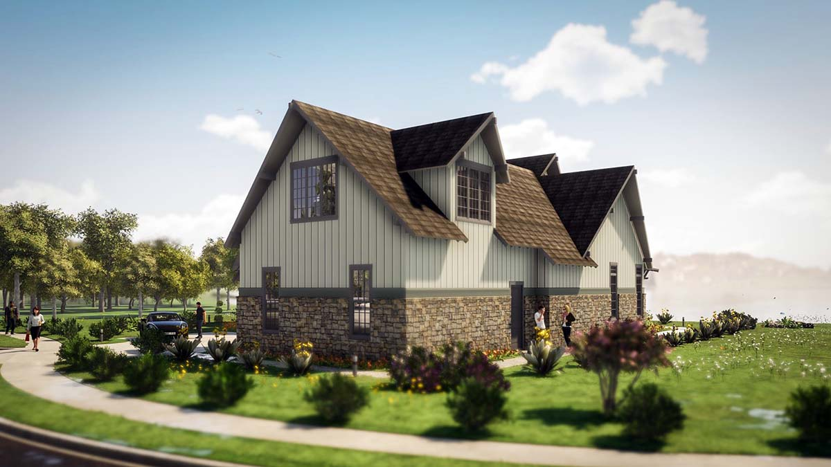 Tudor, Tuscan House Plan 78501 with 5 Beds, 6 Baths, 2 Car Garage Picture 1