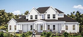 Farmhouse House Plan 78503 with 5 Beds, 4 Baths, 3 Car Garage Elevation